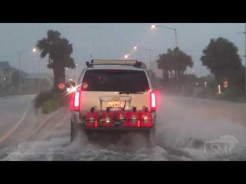 09-15-2020 Gulf Shores, AL - Sally Close Range Power Flash Arc - Rushing Surge - Tree Down On Car