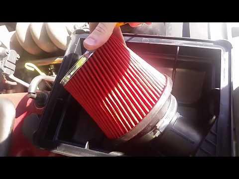 Installing Pod Filter Into Factory Air Box [EFII Ford Falcon/Fairmont]