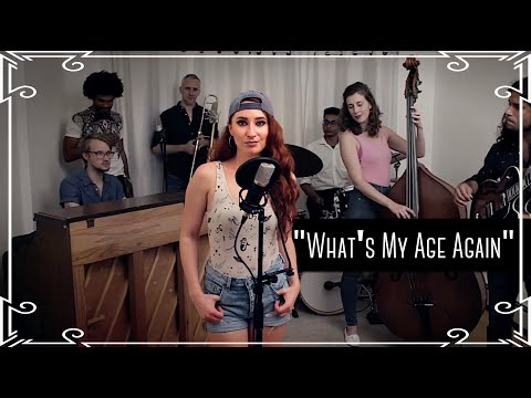 """What's My Age Again"" (Blink 182) Cover by Robyn Adele"