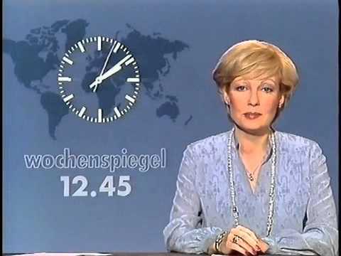 ARD Sendeschluss Dagmar Berghoff Sa. 23.6.1984