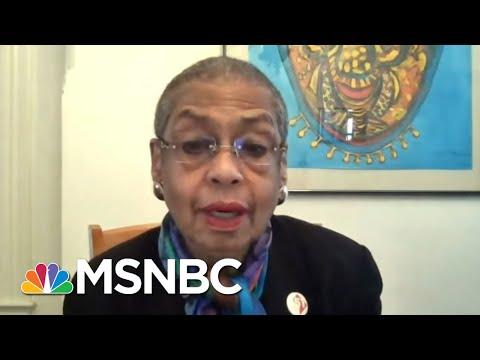 Rep. Eleanor Holmes Norton On DC Statehood, Capitol Hill Fences   Ayman Mohyeldin   MSNBC