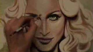 4 MINUTES TO SAVE THE WORLD - MADONNA PAINTING VIDEO