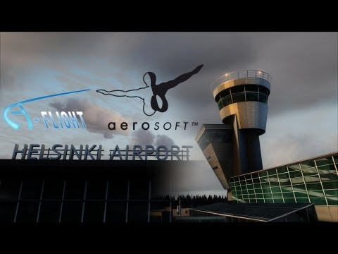 FSX | Official A-Flight Mega Airport Helsinki X Video