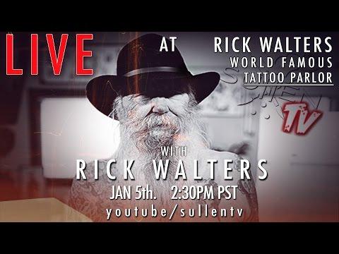 Rick Walters Live Tattoo