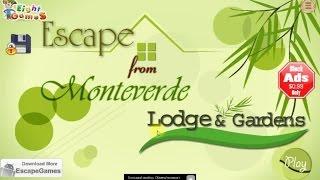 Escape From Monteverde Lodge & Gardens walkthrough.,.