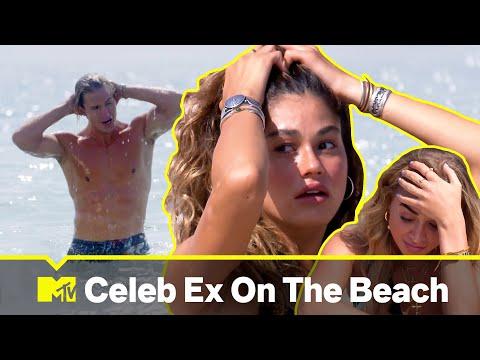 Celebrity Ex On The Beach: i 3 arrivi in spiaggia più scioccanti della prima stagione   MTV Ranked