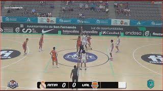 U16M - Semifinal REAL MADRID vs VALENCIA BASKET.- Cpto.España Cadete FEB-San Fernando (Cádiz) 2021
