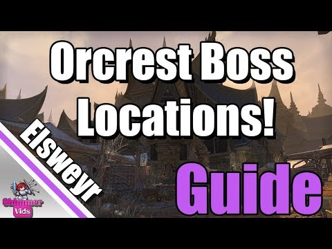 ESO: Elsweyr Orcrest Public Dungeon Boss and Group Event Locations!