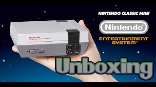 NES Classic Mini Unboxing