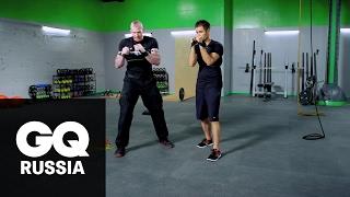 Бой с весом: тайский бокс