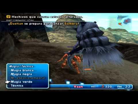 Guía Final Fantasy XII Comentada HD - Parte 4 - Subir Mucho de Nivel + Lanza Pesada