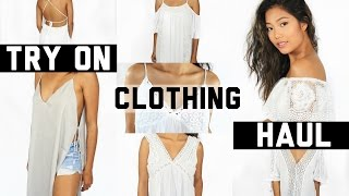 Summer Clothing Try On Haul 2016 ft. TOBI || Farina Aguinaldo