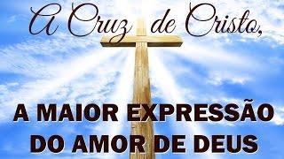 Amor de deus na cruz