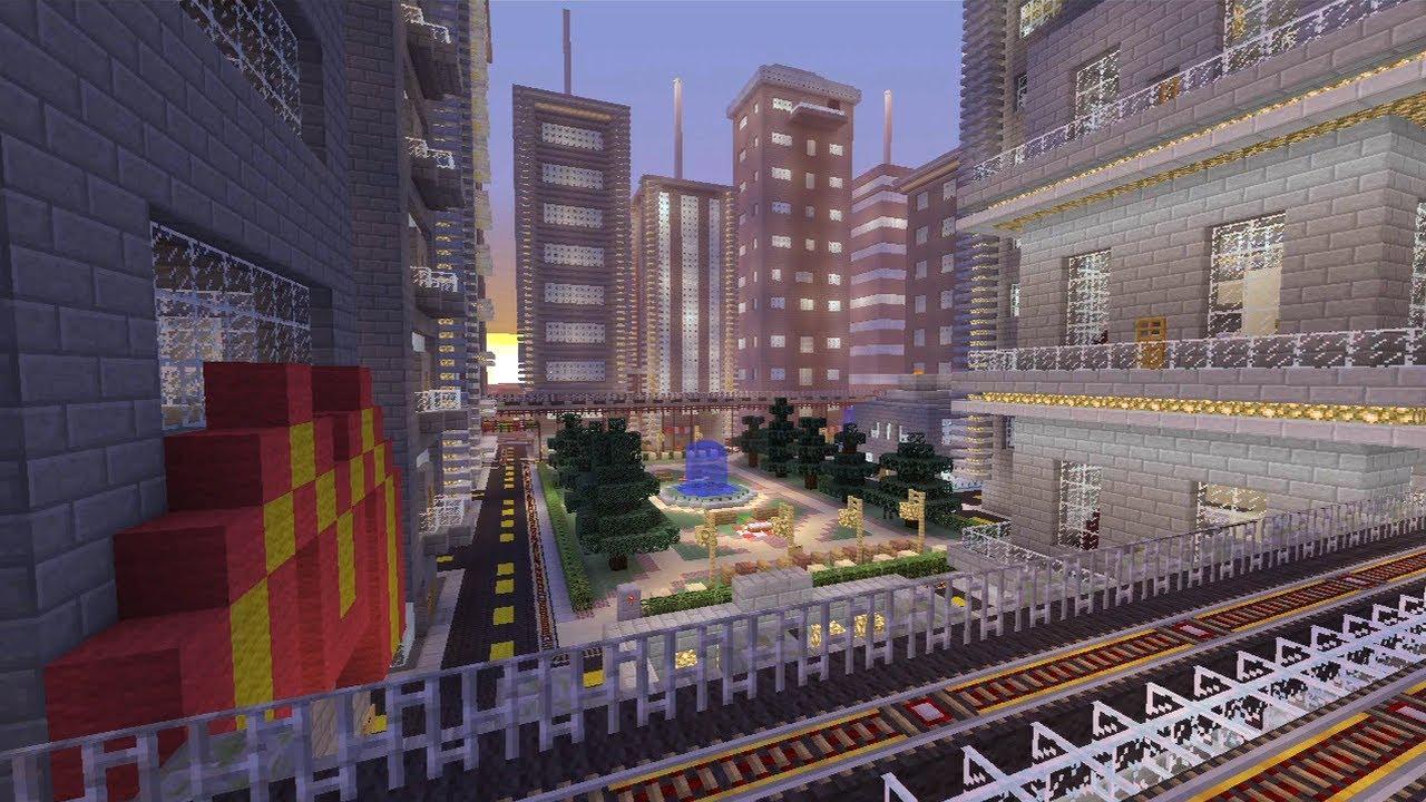 Minecraft Xbox Galaxy City World Tour Part 1 YouTube
