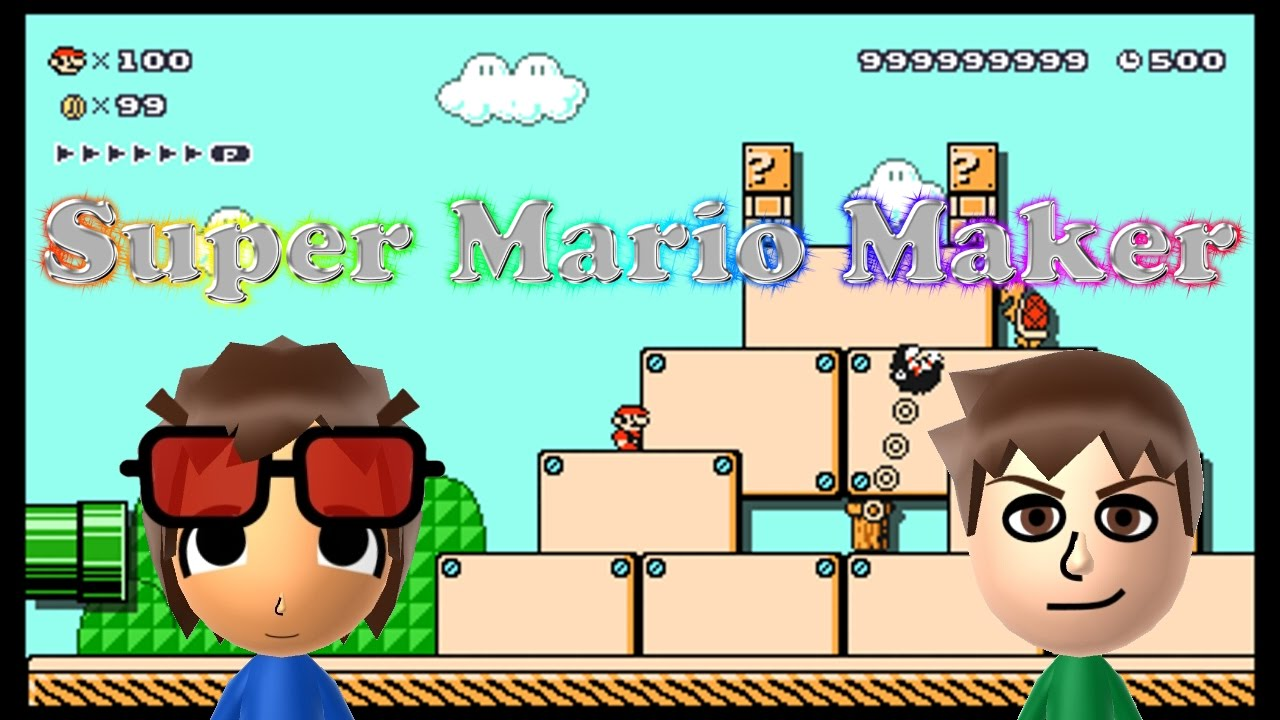 Super Mario Maker for Nintendo 3DS Cheat NTR Plugin released