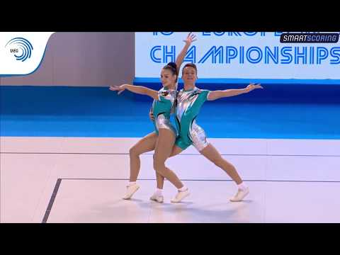 REPLAY: 2017 Aerobics Europeans - Junior qualifications Individual Men, Mixed Pairs & Groups