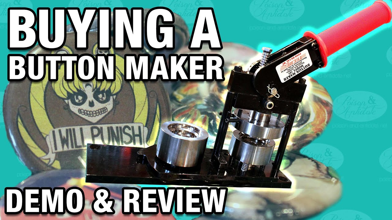 Button Maker Review & Demo