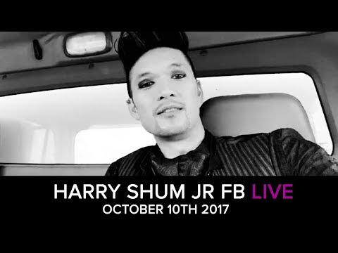 Harry Shum Jr's Facebook live from October 10th, 2017.