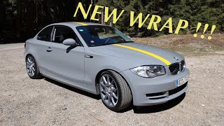 BMW 120D COUPE *E82* WRAPPED I…