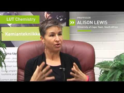 Visions for Chemical Engineering: Professor Alison Lewis from Cape Town University