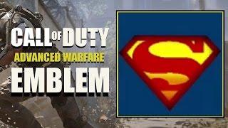 COD AW / نداء الواجب المتقدم الحرب : سوبرمان شعار البرنامج التعليمي