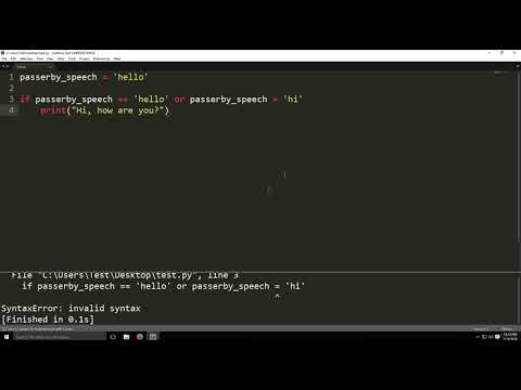 if statement in python-Programming tutorial thumbnail