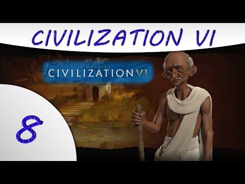 Civilization 6 - India - Gandhi - Part 8