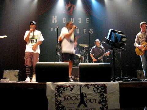 "City Chase San Diego 2009: HOB Karaoke Team #313, Killers - ""Mr. Brightside"""