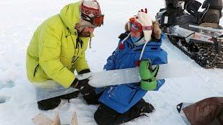 Dartmouth Engineers Harvest Sea Ice