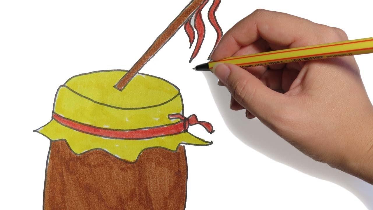 Como Decorar Una Zambomba De Navidad.Como Dibujar Una Zambomba Para Navidad Paso A Paso Facil A Lapiz Y Color Para Ninos