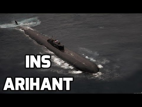 INS ARIHANT: INDIA's FIRST NUCLEAR SUBMARINE: TOP 5 FACTS