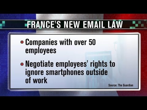 France makes it legal to ignore work emails