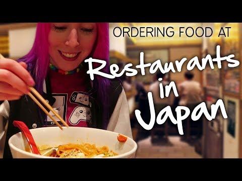 Ordering Food at Restaurants in Japan - JAPLANNING