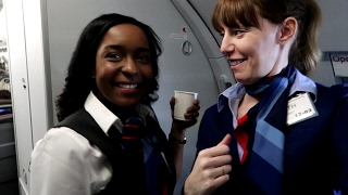Work Trip! Vlog Days 27 and 28 | Flight Attendant Trainee Life | Beth
