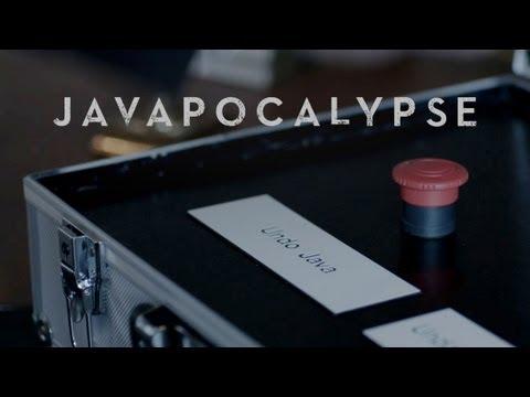 Javapocalypse, un trailer humorístico sobre Java (apto más bien solo para geeks)