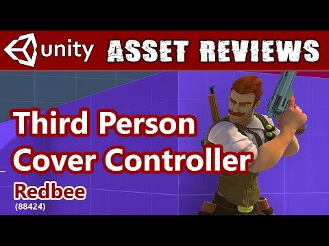 Unity Asset Kit Reviews - 3rd Person Cover Shooter!