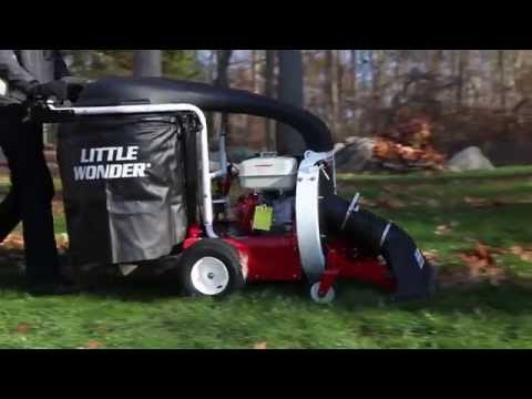 Little Wonder® Pro Vac Cleans Up In Less Time