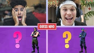 GUESS THAT FORTNITE SKIN! vs. JesserTheLazer PART 2