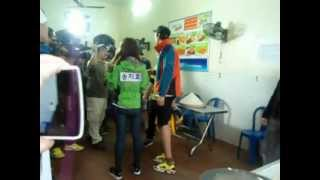 RUNNING MAN IN HANOI,VIETNAM (Monday couple & Gwang Soo)