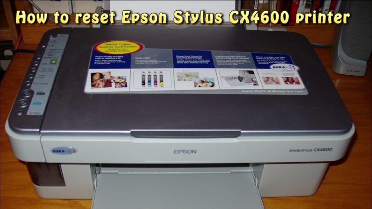 EPSON STYLUS CX4600 PRINT TREIBER WINDOWS XP