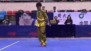2012年全国武术套路锦标赛 男子长拳 005 赵杰(河北)第三名