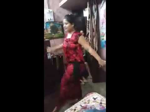 Sexy girls dance at home