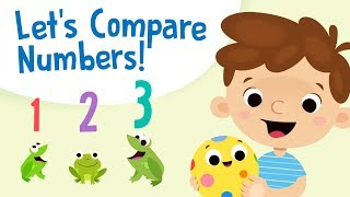 Comparing Numbers for Kids - Greater Than Less Than | Kindergarten and 1st Grade