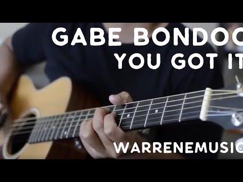 You Got It - Gabe Bondoc