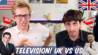 Television! British VS American | Evan Edinger & Jay Foreman
