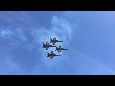 Blue Angels Pensacola Beach Airshow 2017 Thursday