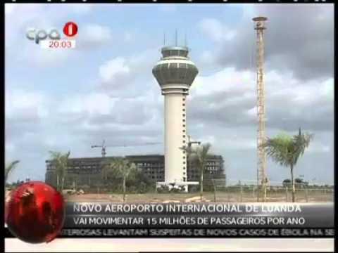 NOVO AEROPORTO INTERNACIONAL DE LUANDA FICA PRONTO A PARTIR DE 2017