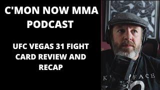 UFC Vegas 31 Recap, Review And Reaction: Makhachev Vs Moises