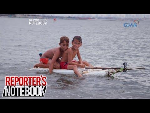 Reporter's Notebook: Ang mga bata sa Manila Bay