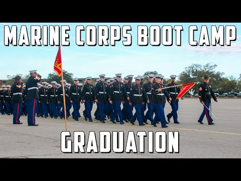 USMC GRADUATION - Bravo & November Company Distinguished Honor Graduates